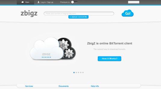 ZBigZ un client per torrent direttamente sul web!