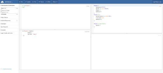 jsFiddle uno strumento per condividere e testare script js/html/css davvero utile