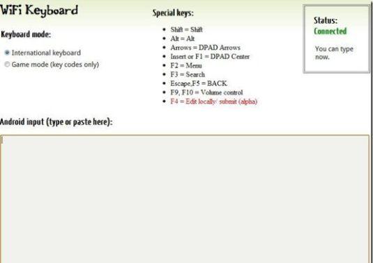 Ecco come usare la tastiera del pc sul proprio smarthphone Android