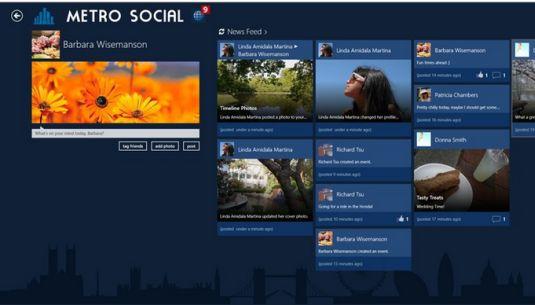 Metro Social, uno dei migliori Client Facebook per Windows 8