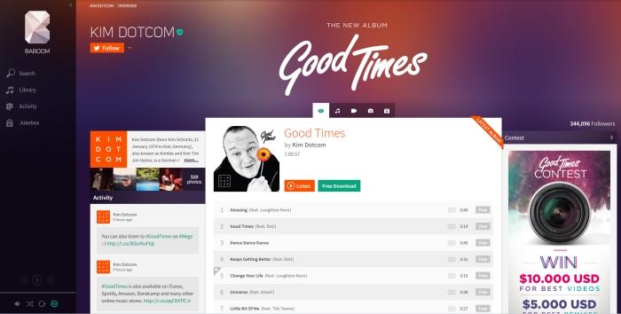 Baboom (Ex Megabox), il sito che vuole far crollare le case discografiche è online… ma per ora è solo un demo