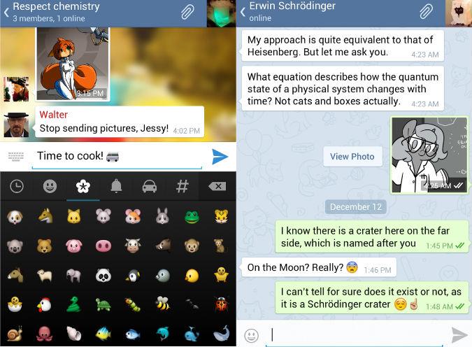 Telegram Messenger un alternativa a WhatsApp open, multipiattaforma, gratuita e sicura