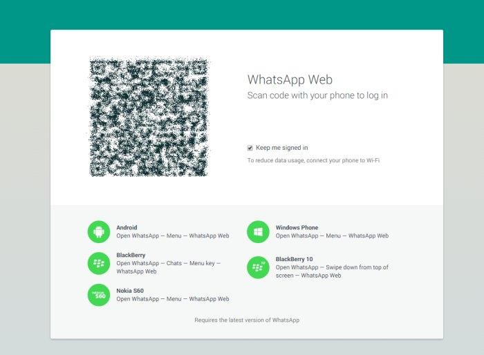 WhatsApp arriva sul web e uccide i propri cloni!