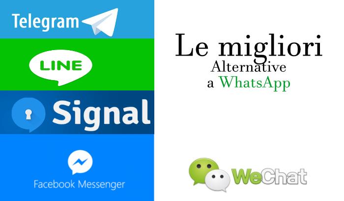 I migliori 10 Instant Messenger ovvero le alternative a WhatsApp